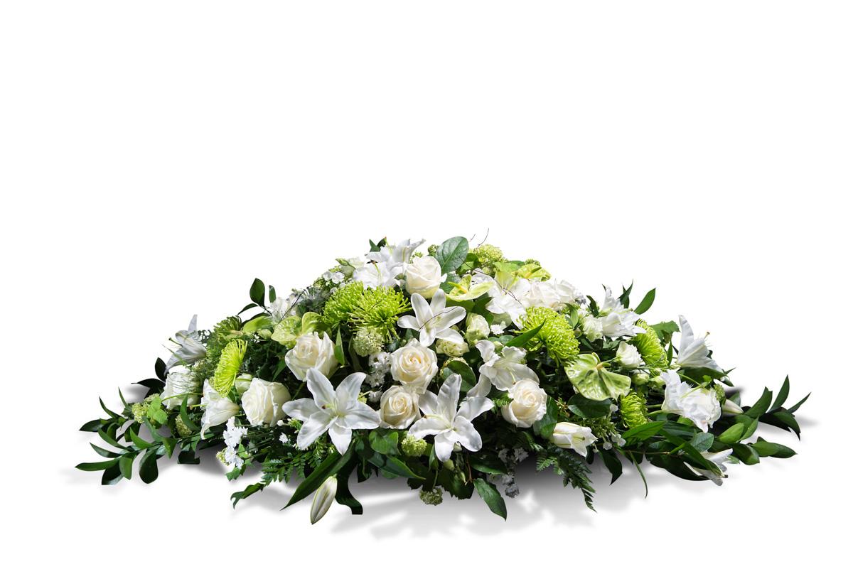 Almohad?n en tonos blancos - Env?o de Flores a Domicilio