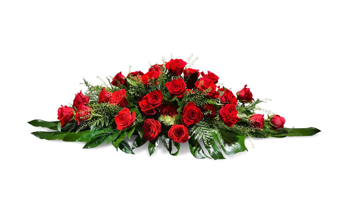 Almohad?n de rosas rojas - Env?o de Flores a Domicilio