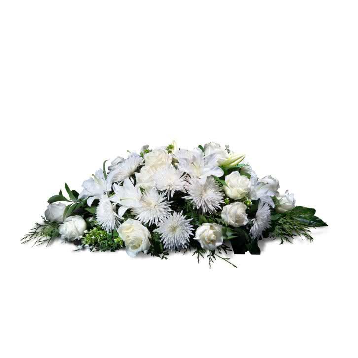 Almohadón pequeño, Almohadón pequeño en tonos blancos