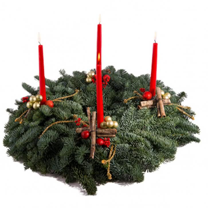 Centro navideño de Adviento