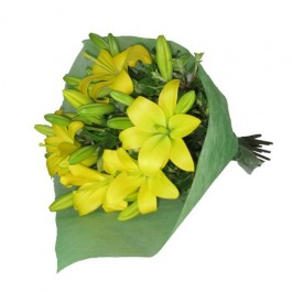 Bunch of Lilies - Yellow, Bunch of Lilies - Yellow