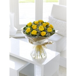 Yellow Rose Hand-tied, Yellow Rose Hand-tied