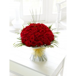 50 Rose Hand-tied, 50 Rose Hand-tied