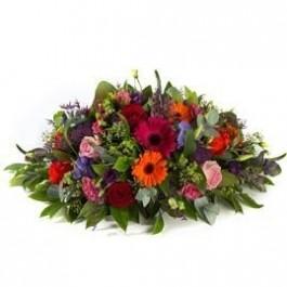 Funeral arrangement oval, Funeral arrangement oval
