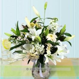 Arrangement of Cut Flowers, AZ#4212 Arrangement of Cut Flowers