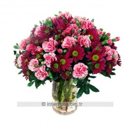 Bouquet of Cut Flowers, AZ#4213 Bouquet of Cut Flowers