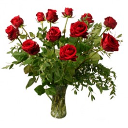 12 red roses, BE#0001 12 red roses