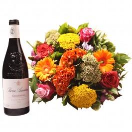 Colorful bouquet with Gigondas, Colorful bouquet with Gigondas