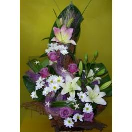Arreglo de flores cortadas, BG#BG1004 Arreglo de flores cortadas