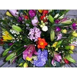 Ramo de flores mixtas, BG#BG1012 Ramo de flores mixtas