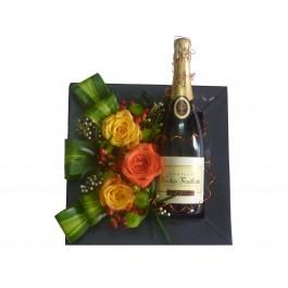 Arreglo de flores cortadas con alcohol, BJ#BJ1012 Arreglo de flores cortadas con alcohol