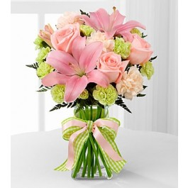 D7-4906 The Girl Power Bouquet by FTD - VASE INCLUDED, D7-4906 The Girl Power Bouquet by FTD - VASE INCLUDED