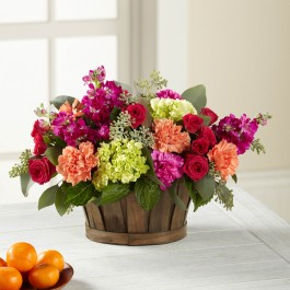 The FTD® New Sunrise™ Bouquet - BASKET INCLUDED, The FTD® New Sunrise™ Bouquet - BASKET INCLUDED
