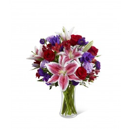 Stunning Beauty Bouquet - Vase included, BS#C16-4839 Stunning Beauty Bouquet - Vase included