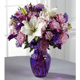 C17-5187 The FTD® Shades of Purple™ Bouquet, C17-5187 The FTD® Shades of Purple™ Bouquet