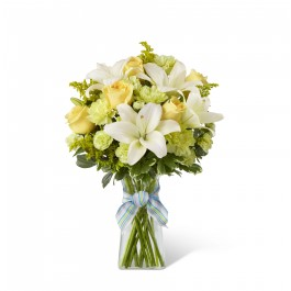 Boy-Oh-Boy Bouquet - vase included, BS#D7-4905 Boy-Oh-Boy Bouquet - vase included