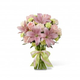Girl Power Bouquet - Vase included, BS#D7-4906 Girl Power Bouquet - Vase included