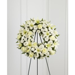 Treasured Tribute Wreath, BS#S3-4442 Treasured Tribute Wreath