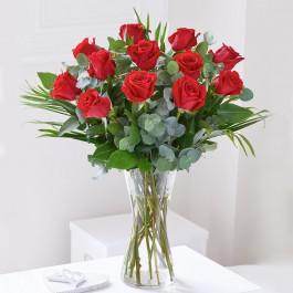 Dozen Medium Stem Roses, Dozen Medium Stem Roses