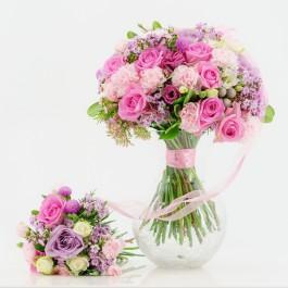 Pink Mom & Baby Bouquet, Pink Mom & Baby Bouquet