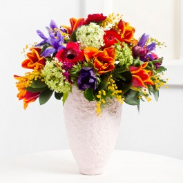 Cheerful Seasonal Bouquet, BY#EE345 Cheerful Seasonal Bouquet