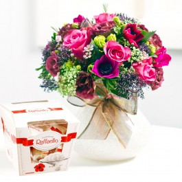 Bright Bouquet with candies, BY#EE601 Bright Bouquet with candies