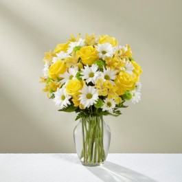 The Sunny Sentiments™ Bouquet - VASE INCLUDED, The Sunny Sentiments™ Bouquet - VASE INCLUDED