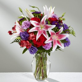 The Stunning Beauty™ Bouquet by FTD® - VASE INCLUDED, The Stunning Beauty™ Bouquet by FTD® - VASE INCLUDED