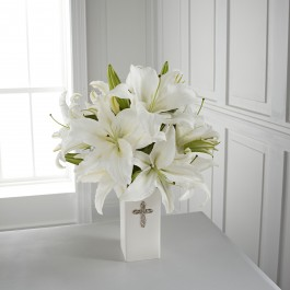 The FTD Faithful Blessings Bouquet - VASE INCLUDED, CA#FBB The FTD Faithful Blessings Bouquet - VASE INCLUDED