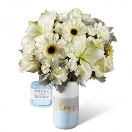 HMB -  The FTD® Sweet Baby Boy™ Bouquet by Hallmark, HMB -  The FTD® Sweet Baby Boy™ Bouquet by Hallmark