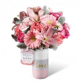HMG - The FTD® Sweet Baby Girl™ Bouquet by Hallmark, HMG - The FTD® Sweet Baby Girl™ Bouquet by Hallmark