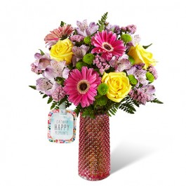 HMJ - The FTD® Happy Moments™ Bouquet by Hallmark, HMJ - The FTD® Happy Moments™ Bouquet by Hallmark