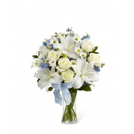 Sweet Peace Bouquet vase included, CA#S46-4550 Sweet Peace Bouquet vase included