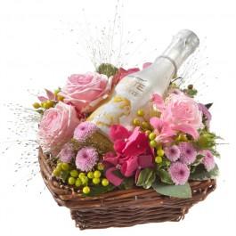 Fée des fleurs avec WHITE Secco Piccolo (20cl), CH#CHN48617 Fée des fleurs avec WHITE Secco Piccolo (20cl)