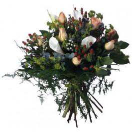 Ramo de flores de temporada, CN#1002 Ramo de flores de temporada
