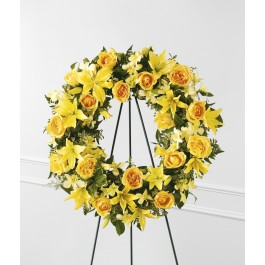 The FTD® Ring of Friendship™ Wreath, The FTD® Ring of Friendship™ Wreath