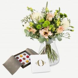 Elegant bouquet with Orangeri Nord (9 stk.), Elegant bouquet with Orangeri Nord (9 stk.)