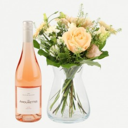 Lovely greeting with Les Amourettes rosé, Lovely greeting with Les Amourettes rosé