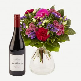 Sparkling Flora and Les Amourettes red wine, Sparkling Flora and Les Amourettes red wine