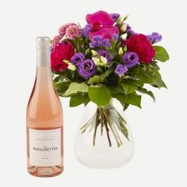 Sparkling Flora with Les Amourettes rosé wine, Sparkling Flora with Les Amourettes rosé wine