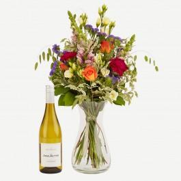 Colorful Flora with Les Amourettes blanc, Colorful Flora with Les Amourettes blanc