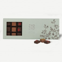 Box with min. 310 gr. 27 pieces CHO CHO, Box with min. 310 gr. 27 pieces CHO CHO