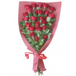 Bouquet of 24 red roses, DZ#DZ1B1 Bouquet of 24 red roses