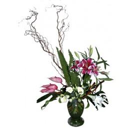 Arreglo de flores mixtas, EG#605 Arreglo de flores mixtas