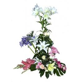 Arreglo de flores mixtas, EG#612 Arreglo de flores mixtas