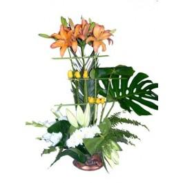 Arreglo de flores cortadas, EG#EG1026 Arreglo de flores cortadas