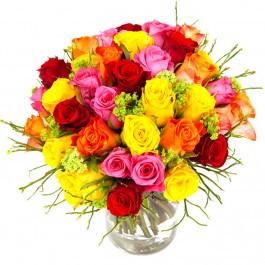 Bouquet of short roses, Bouquet of short roses