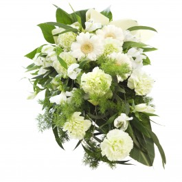 Bright memories - funeral bouquet, Bright memories - funeral bouquet