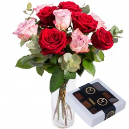 A Dream of Roses + Champagne truffles, A Dream of Roses + Champagne truffles