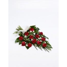Classic Rose Sheaf  Red, GB#500442.Classic Rose Sheaf  Red